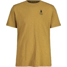 Maloja LuchsM. SS T-shirt Herrer, beige